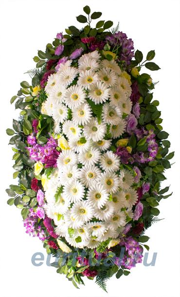 Искусственные цветы на венок своими руками