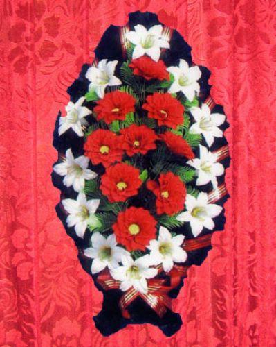 Ритуальные венки своими руками фото